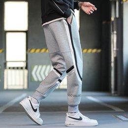 Wholesale harlem pants resale online – Versatile casual pants Harlem pants loose jogging sports Japanese autumn and winter new men s