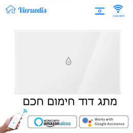 wifi remote NZ - WiFi Smart Boiler Switch Water Heater Smart Life Tuya APP Remote Control ISRAEL standard Amazon Alexa Google Home Voice Control