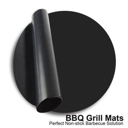 sheet liner NZ - BBQ Grill Mat Reuseable Nonstick kitchen Mats Accessories Pan Fry Barbecue Liner Sheet Cooking Oil Pad Baking Party Picnic