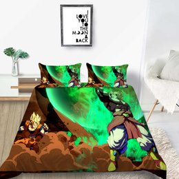 unique duvet cover sets Canada - King Size Bedding Set 3D Cartoon Printing Creative Soft Cartoon Duvet Cover Queen Twin Full Single Double Unique Bed Cover with Pillowcase