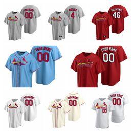 Wholesale baseballs online – design Baseball Jersey Womens Genesis Cabrera Jersey Brett Cecil Junior Fernandez Paul DeJong Kwang hyun Kim Harrison Bader Miller Custom Stitched