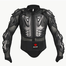 Discount jacket full body armor Motorcycle Racing Armor Full Body Sport Guard Off-road Shatter-resistant Protective Jacket Sportswear Outdoor Acti