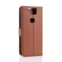 m1 cases Australia - for Asus Zenfone MAX M1 ZB555KL Lychee Wallet leather cover case for Asus Zenfone 5 lite ZC600KL ZE620KL 6 ZS630KL