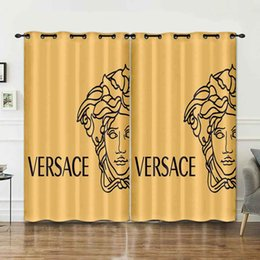 Wholesale Curtain 3D New Style Fashion Bedroom Window Treatments Shade Curtain Valance For Men And Women A8