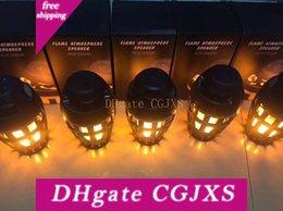 Новый Творческий моды, водонепроницаемый и пылезащитный Bluetooth Sound Box Led пламени лампы Кафе Бар Атмосфера лампы Бизнес Подарочные лампы на Распродаже
