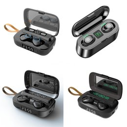 i7 plus ear phones Canada - Hot I7 Mini TWS Wireless Bluetooth Earphone Double Earbuds With Charger Dock Stereo Headphone For IPhone Xs 8 7 Plus S9 Plus Android#995