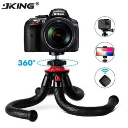 octopus camera NZ - JKING UFO Flexible Octopus Camera Tripod with Ballhead Bundle,Phone Video Gear mini tripod for Phone X Gopro 4 5 6 Samsung T191025