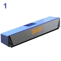 computer games console NZ - Multifunction Tablets Desktop Computer Music Playing RGB LED Display Bluetooth Sound Bar Speaker Home Game Console TV Laptop