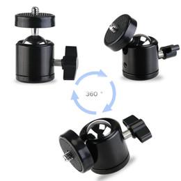 Cgjxs 2018 Brand New Slr Camera Dv Mini Spherical Stabilizer Single Three -Hole Camera Ptz Fixed Stabilizer 1  4 3  8 Free Shipping on Sale