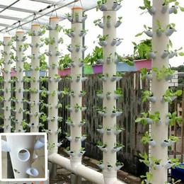 40Pcs DIY hydroponischen Töpfe für Vertikal Turm Growing Systems Soilless Geräte Set im Angebot