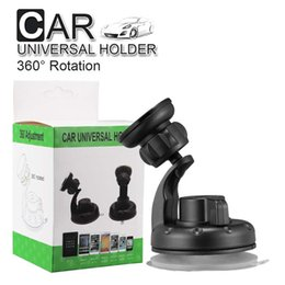 suction cups phone holder Australia - Car Mount Air Vent 360 Rotate Universal Car Mount Phone Holder For Iphone X 8 8Plus Windshield Dashboard Car Holder With Suction Cup