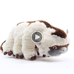 soft toy cow NZ - New arrival Cotton Avatar Last Airbender 45CM Appa Plush Toys Soft Juguetes Cow Stuffed Toy For Gifts NOOM026