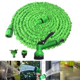 magic hoses UK - 25FT-150FT Garden Hose Expandable Magic Flexible Water Hose Plastic Hoses Pipe with Spray Gun to Watering Car Wash Spray