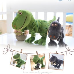cartoon kangaroos NZ - New arrive Dinosaur plush toys hobbies cartoon Tyrannosaurus stuffed toy dolls for children boys baby Birthday Christmas gift