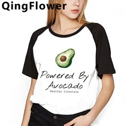 kimono tshirt UK - Avocado Funny Cartoon Harajuku Korean Style t Shirt Women Ullzang Cute Anime Tshirt Kawaii Summer T-shirt Graphoc Top Tee Female female 14