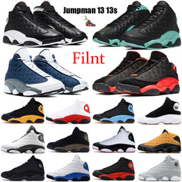 anthony grün großhandel-Flint Jumpman S Männer Basketballschuhe umgekehrt er hat Game Cap and Garn Black Island Grün gezüchtet Hof Lila Carmelo Anthony Sneakers