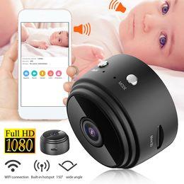 venda por atacado A9 WiFi Mini IP Câmera Ao Ar Livre Night Version Micro Câmera Camcorder Voz Video Recorder Security HD Wireless Mini Filmadoras
