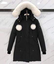 Wholesale puffer coat women resale online - NEW Women Down Jacket Duck Down moose Jacket Coats Women Winter Puffer Jacket Keep Warm Portable Windproof knuckles Down Coat