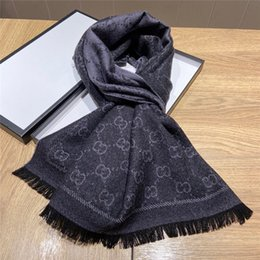 jacquard pashmina scarf Australia - 48*180 CM Women Scarves Vintage Style Silk Jacquard Digital Wool Pashmina Spring Fall Windproof Eleganr Scarves for Ladies