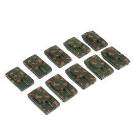10x collection militaire Réservoir Toy Réservoir Modèle Kits Non Roues Enfants Pocket Toy en Solde