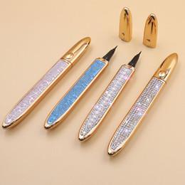 Self-adhesive Eyeliner Pen Glue-free Magnetic-free for False Eyelashes Waterproof No Blooming Eye Liner Pencil on Sale