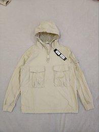 E SMOCK / ANORAK el algodón de nylon TELA Pullover Chaqueta Hombres Mujeres Abrigos Moda cazadora chaquetas de abrigo en venta