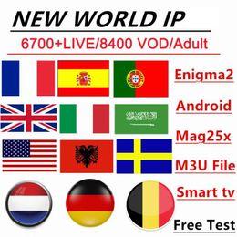 Programa de TV 10000Live VOD m 3 u elegante androide TV France arabe néerlandais Turquie Pays-Bas australi Allemagne Espagne en venta