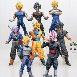 vegeta toys 2020 - Piece Figure Son Action Figure Vegeta Chocolate Black Goku Z Y190529 Pvc Goku Msp Stars Trunks Vegetto Master Toy 26cm A