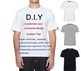 Vente en gros T-shirt noir et blanc pur en vrac de haute qualité occasionnels coton T-shirt privé sur mesure hip-hop style de haute rue Harajuku ourlet courbé T-shirt