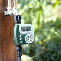 automatic water timers UK - Electronic Garden Water Tap Timer Automatic Irrigation Controller Unit Digital noV9#