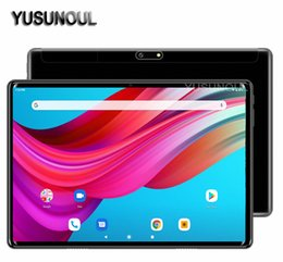 32 inch tablet 2020 - Hot Sale New 2020 Super 2.5D Glass 10 inch tablet PC 4G Android 9.0 Octa Core 32 64GB ROM WiFi GPS 10.1 IPS Gifts+Temper
