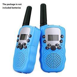 Talkie-walkie enfants talkie-walkie 2 pcs Mini à deux Way Station Radio PMR Enfants Cadeau / Famille Utilisation / Camping en Solde
