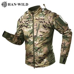 Wholesale military windbreaker jackets resale online – Cycling Jacket Men s Military Tactical Jacket Warm Windbreaker Bomber Jacket Camouflage Hooded Coat US Army Waterproof Breathable