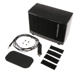 Wholesale Portable 12V 60W Electric Car Cooling Fan Speed Adjustable Black