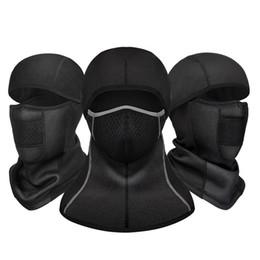 Venta al por mayor de máscara de ciclo del invierno a prueba de viento caliente cara protección contra el frío al aire libre equipamiento deportivo Máscara de la motocicleta de la cara