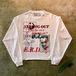 Wholesale retro t shirt for sale – custom Streetwear Loose Long Sleeve T Shirt Men Women Best quality Top Tee Retro T Shirt