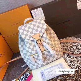 borse di lusso Designer borse moda di Luis vuiotons Damier Azur Zaino Montsouris Monogramma Sperone in Offerta