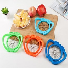 stainless steel apple cutter UK - Kitchen Gadgets Stainless Steel Apple Cutter Slicer Vegetable Fruit Tools Kitchen Accessories Apple Easy Cut Slicer Cutter YYA55