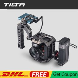 side cage Canada - Tilta Cage for Z-cam E2 S6 F6 F8 Camera Side Focus Handle F550 F570 E6 for Z CAM Accessiroes vs SmallRig