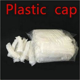 woven plastic UK - Hair Black Cap Dust Plastic Cap Non Hair Showercaps Hat Caps Non Salon Plastic Woven Accessories Shower Beauty Woven Shower OAQTW bbgargden