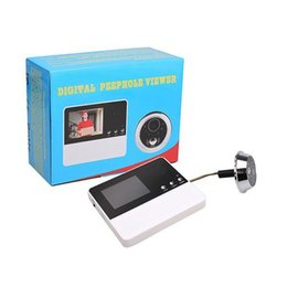 Wholesale cat videos for sale – custom Intelligent Electronic Cat Eye Visual Cat Door Video Million Pixels Degrees Times W Doorbell for Safe Home Supplies