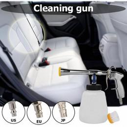 High Pressure Car Wash Water-Gun for Tornador Washer Auto Interior Deep Detailing Cleaning Machine Sprayer-Gun with Brush vyJ9#