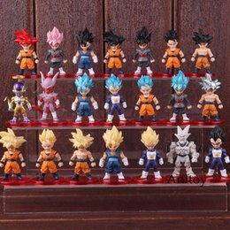 vegeta toys 2020 - Vegetto Figure Model Toy Frieza Figure Pvc Goku Action Goku Son Y190529 Collectible 21pcs set Vegeta Anime ABC2007 bgqJp