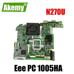mainboard for laptop Australia - 1005HA Motherboard N270U 1GB For Asus 1001HA 1005HA Laptop motherboard Mainboard test 100% OK