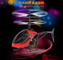 Mini RC Drone Helicopter Infraed Induction 2 Channel Electronic Funny Suspension Remote Control Aircraft Quadcopter Drone Kids Boy Toys on Sale