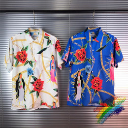 Wholesale hawaii shirt for sale - Group buy New Hawaii Shirt Digital Printing Men Women Top Tees Fashion Streetwear Shirts