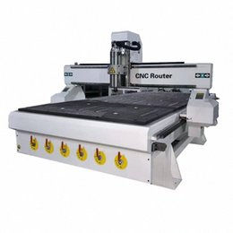 Großhandel Standard-CNC-Fräser-Maschine 1325 CNC-Fräser-Kit für Holz Kugelgewindeantrieb # Aluminium gravieren Metall Fräsmaschine povl