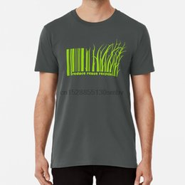 Wholesale eco friendly t shirts online – design Reduce Reuse Recycle T Shirt Green Eco Friendly Earth Environment Reuse Reduse Recycle Nature Barcode Vector