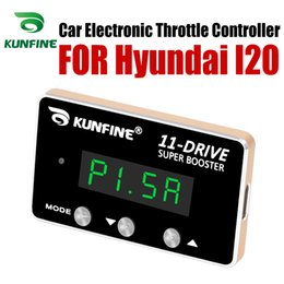 hyundai car parts NZ - KUNFINE Car Electronic Throttle Controller Racing Accelerator Potent Booster For Hyundai I20 Tuning Parts