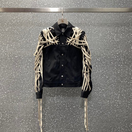 Wholesale loom knitted for sale - Group buy 2020 new Men Jackets high quality Pure hand cotton rope wearing loom car jacket Coat Streetwear Winter Jacket Men
